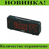 Светодиодные электронные часы VST 763W-1!Лучшая цена