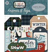 Висічки - Frames & Tags - Let It Snow - Carta Bella