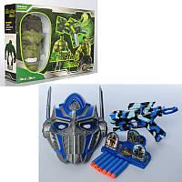 Игровой набор с маской, оружием и мишенями - Халк и трансформер, 9914BC