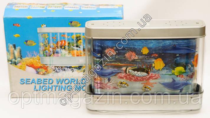 Лампа нічник акваріум 25см*30см, фото 2