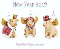 Символ года 2019 поросёнок статуэтка свинья