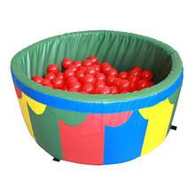 Сухой бассейн  с шариками 100*40*5 см