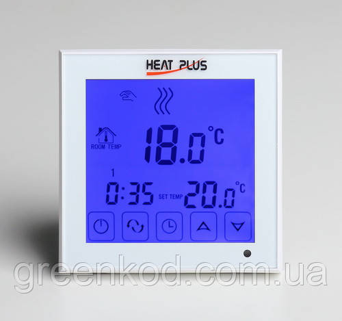 Терморегулятор Heat Plus, BHT 323Gb /White