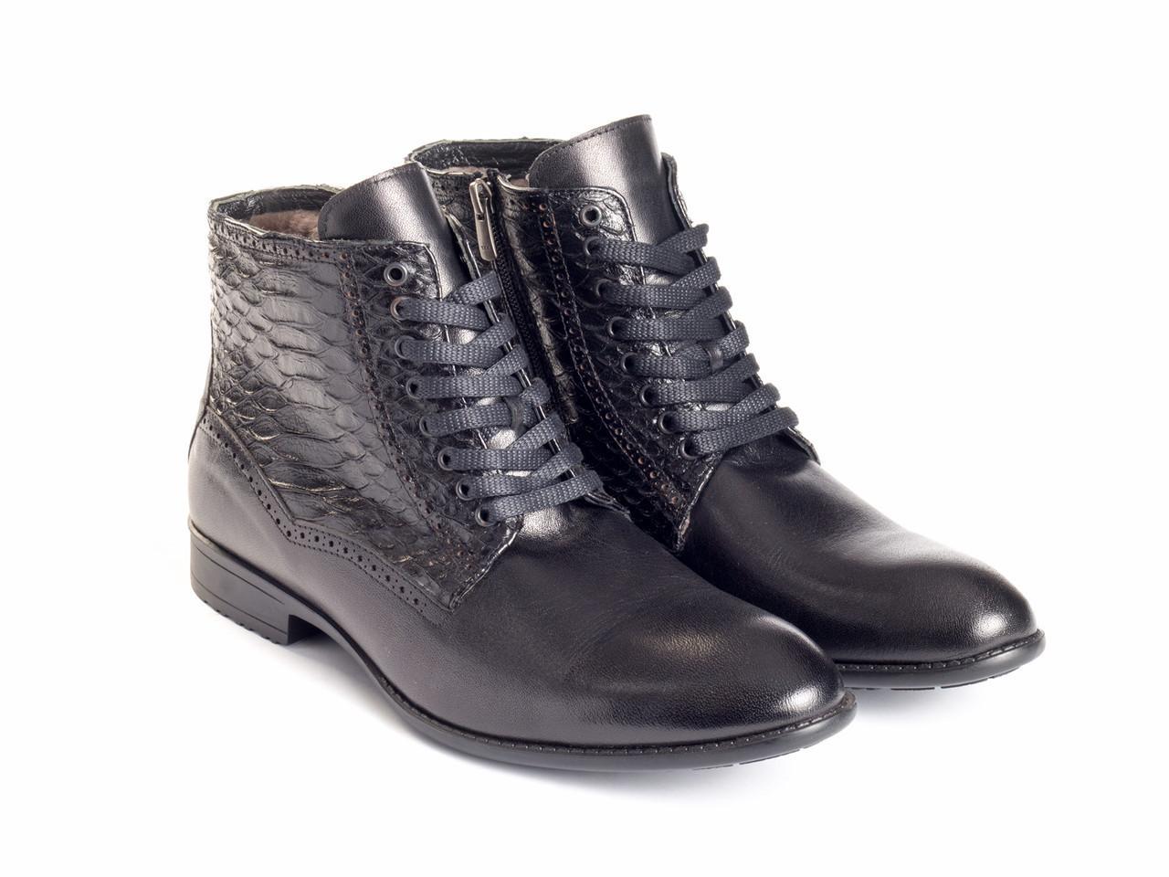 Ботинки Etor 12110-14820-02 44 черные