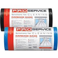Пакеты для мусора PROservice 16205700 белый п/е 120л 10шт 70х110 ЛД