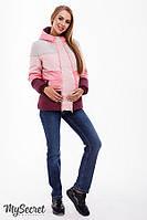 Демисезонная куртка для беременных из плащевки