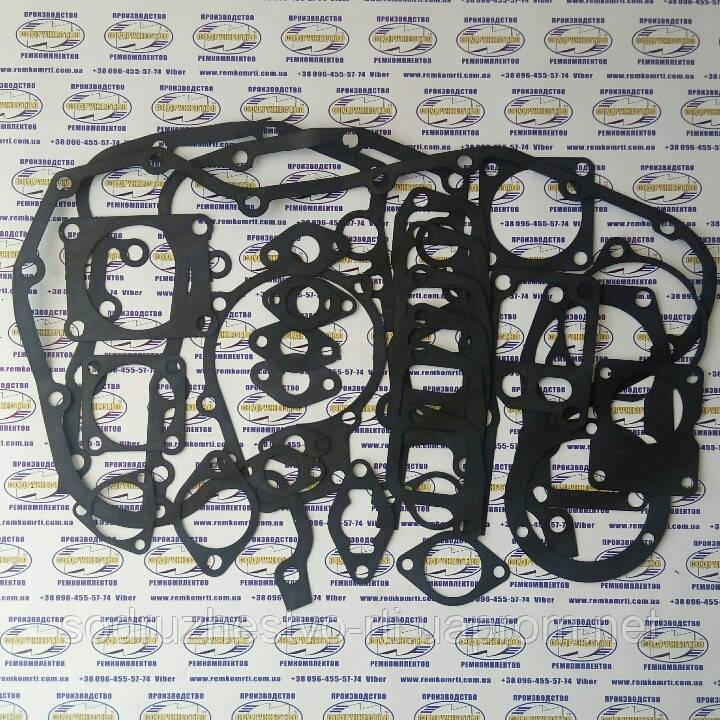 Набор прокладок для ремонта двигателя А-01 (прокладка кожкартон TEXON) (малый набор)