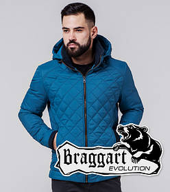 Braggart 1652 | Мужская ветровка бирюзовая