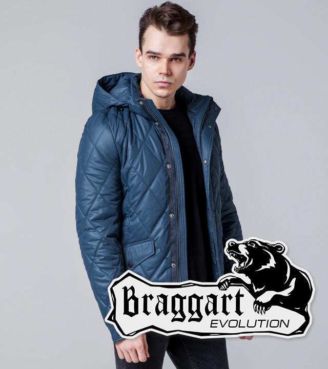 Braggart 1489   Мужская ветровка индиго