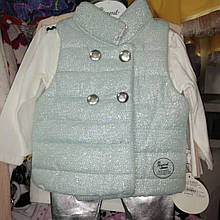 Костюмчик жилетка, реглан і брюки для дівчаток 6-18 міс.