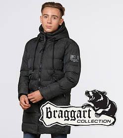 Подросток 13-17 лет    Куртка зимняя Braggart Teenager 25220 темно-зеленая