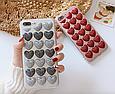 Чохол накладка силікон 3D CLEAR HEART iPhone X, фото 2