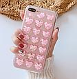 Чохол накладка силікон 3D CLEAR HEART iPhone X, фото 5