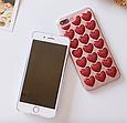 Чехол накладка силикон 3D CLEAR HEART iPhone X, фото 6