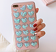 Чохол накладка силікон 3D CLEAR HEART iPhone X, фото 7