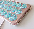Чохол накладка силікон 3D CLEAR HEART iPhone X, фото 9