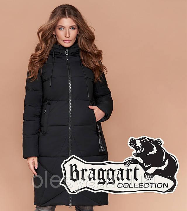 Braggart Simply 1936   Длинная женская куртка черная