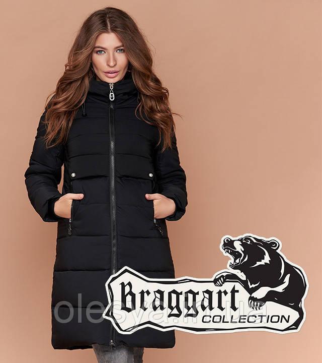 Braggart Simply 1933 | Теплая куртка женская на зиму черная