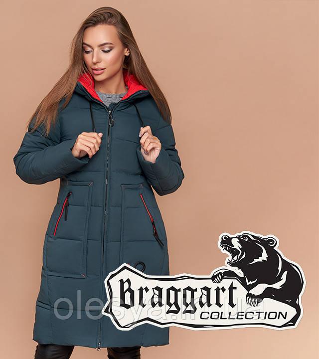Braggart Simply 1926 | Женская теплая куртка бирюза