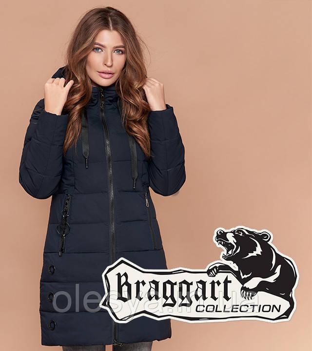 Braggart Simply 1929 | Куртка женская на зиму темно-синяя