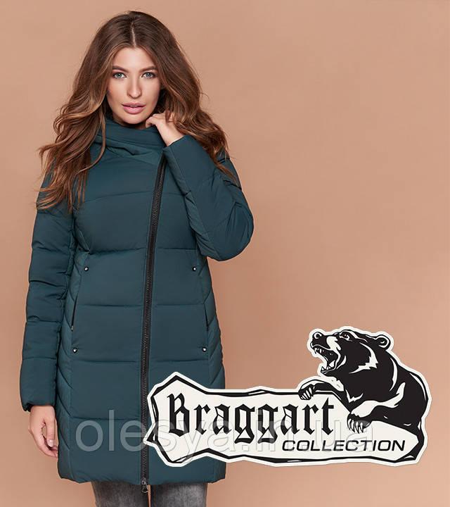 Braggart Simply 1928 | Теплая женская куртка зимняя бирюза
