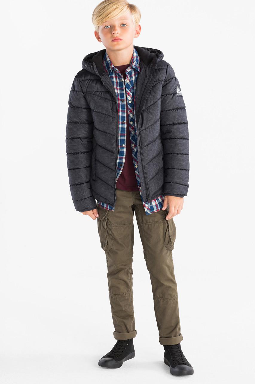 Підліткова куртка для хлопчика на флісі C&A Німеччина Розмір 146