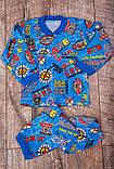 Пижама детская на 2 пуговицах  КУЛИР  Пижама детская на 2 пуговицах Модель: 9637-002V, фото 3