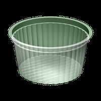 Контейнер круглий з кришкою УК-110, PET, прозора, 250 мл, 2000 шт/уп