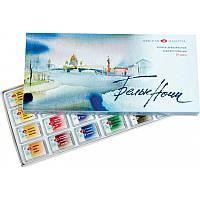 Набор акварельных красок Белые Ночи 24 цвета (4607010582203) 1941061  к/к