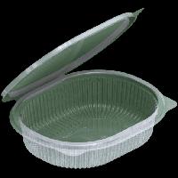 Контейнер з кришкою УК-350Е-02, PET, прозрачная, 350 мл, 540 шт/уп
