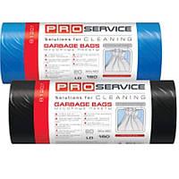 Пакеты для мусора PROservice 16202070 черный п/е 160л 10шт 90х120 ЛД