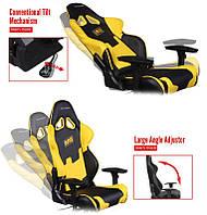 Кресло для геймеров DXRacer Racing OH/RZ21/NY/NAVI Black/Yellow, фото 1
