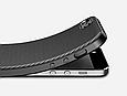 Чехол накладка противоударный Carbon NEW для iPhone 5/5s/se, фото 4