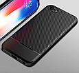 Чехол накладка противоударный Carbon NEW для iPhone 5/5s/se, фото 2
