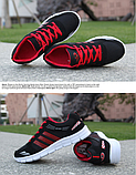 Кроссовки Sport черно-красные, фото 2