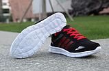 Кроссовки Sport черно-красные, фото 3