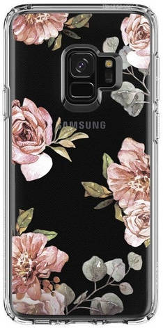 Накладка Spigen Liquid Crystal для Galaxy S9 [Blossom Flower (592CS22829)], фото 2