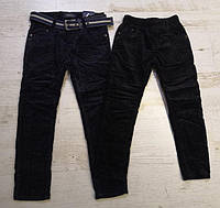 Вельветовые брюки утепленные для мальчиков оптом, Seagull, 116-146 см,  № CSQ-89961, фото 1