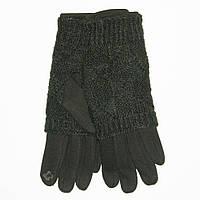 Оптом женские трикотажные стрейчевые перчатки для сенсорных телефонов - №18-1-5