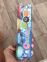 Детский пластилин тесто набор для творчества 4 цвета