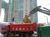 Вывоз грунта с погрузкой - Услуги тспецтехники