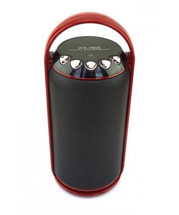 Колонка со светомузыкой bluetooth WS-1602 (bluetooth колонка Portable wireless speaker)