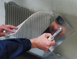 Стекловолоконная сетка 1 м 50 м 75г\м2 - 5*5мм  Fiberglass для внутренних работ белая универсальная, фото 3