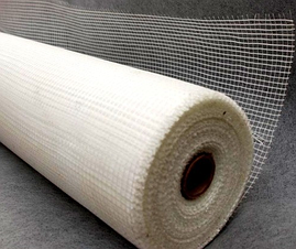 Стекловолоконная сетка 1 м 50 м 75г\м2 - 5*5мм  Fiberglass для внутренних работ белая универсальная, фото 2