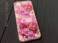 Чехол Flamingo вода для iPhone 5/5s/Se, фото 1