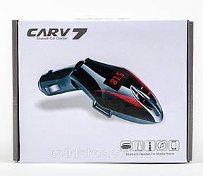 Трансмиттер с блютузом FM модулятор Car 7 Bluetooth,AUX