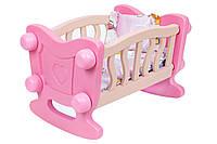"""Колыбель кроватка для куклыТехноК"""", арт.4180"""