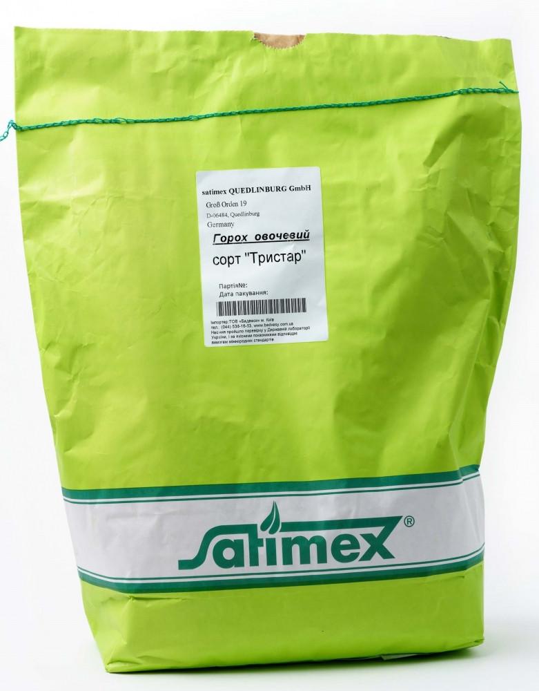 Тристар (5кг) насіння овочевого гороху, Satimex