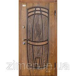 Входные двери Грация (КS) 209 Патина - дуб золото