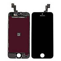 Дисплей (Экран) для iPhone 5S/ SE с Сенсором/ Тачскрином (Модуль) чёрный оригинал